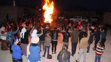 Photo of Li Şengalê Newroz hate pîroz kirin